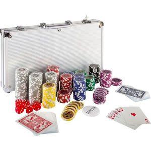 Zestaw do pokera 300szt. żetonów 1 - 1000 design Ultimate obraz
