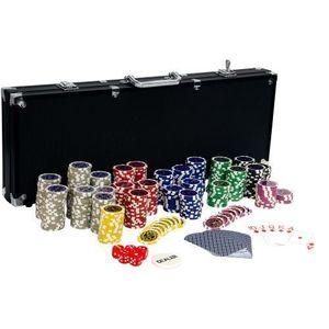 Zestawy żetonów do pokera obraz