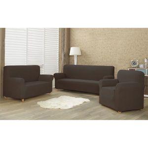 4Home Multielastyczny pokrowiec na fotel Comfort brązowy, 70 - 110 cm, 70 - 110 cm obraz