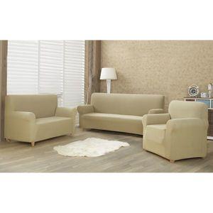 4Home Multielastyczny pokrowiec na fotel Comfort beżowy, 70 - 110 cm, 70 - 110 cm obraz