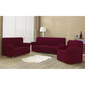 4Home Multielastyczny pokrowiec na fotel Comfort bordo, 70 - 110 cm, 70 - 110 cm obraz