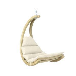Drewniany fotel hamakowy, ecru Swing Chair obraz