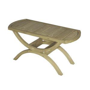 Stolik drewniany, Świerkowy Tavolino obraz