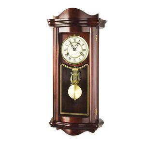 Zegar ścienny wiszący antyczny wahadłowy PROMETHEUS 64 cm obraz