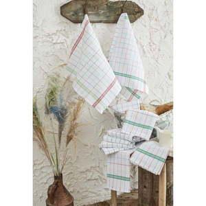 Zestaw 10 bawełnianych ścierek kuchennych Benny, 46x76 cm obraz