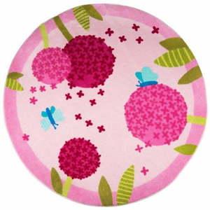 Dywan dziecięcy Polen Pink, ⌀ 133 cm obraz