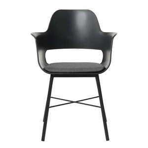Czarne krzesło Unique Furniture Wrestler obraz