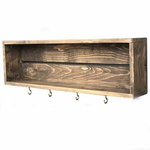 Ręcznie robiona wielofunkcyjna półka kuchenna Wallace obraz
