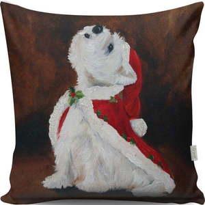 Poduszka Christmas Dog, 43x43 cm obraz