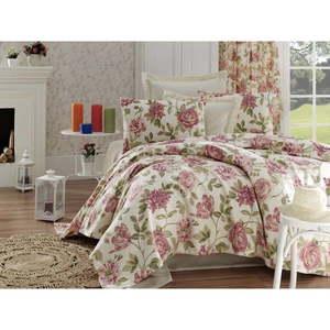 Narzuta na łóżko z czystej bawełny jednoosobowy Rosalita, 200x235 cm obraz