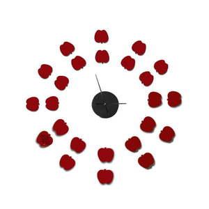 Zegar samoprzylepny Mauro Ferretti Apples, ⌀ 75 cm obraz