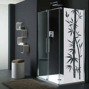 Naklejka wodoodporna do łazienki Ambiance Bamboo obraz