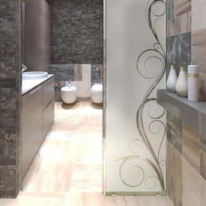 Naklejka wodoodporna do łazienki Ambiance Seductive obraz