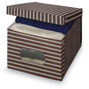 Brązowo-szare pudełko Domopak Living, 31x50 cm obraz