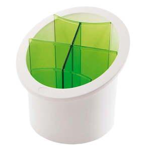 Zielony pojemnik na sztućce Snips Cutlery obraz