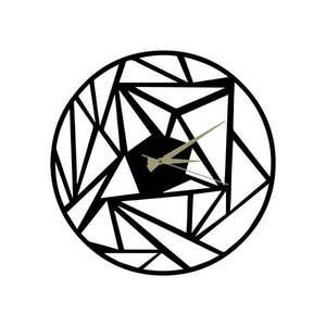 Metalowy zegar Peony, 60x50 cm obraz