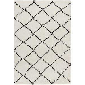 Beżowo-czarny dywan Mint Rugs Hash, 200x290 cm obraz