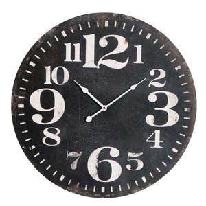 Zegar naścienny Black Numbers obraz