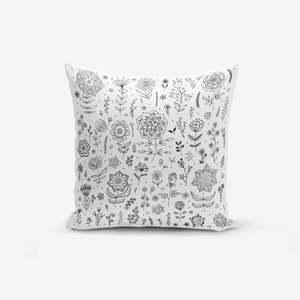 Poszewka na poduszkę z domieszką bawełny Minimalist Cushion Covers Flower, 45x45 cm obraz