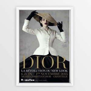 Plakat w ramce Piacenza Art Dior With Hat, 23x33 cm obraz