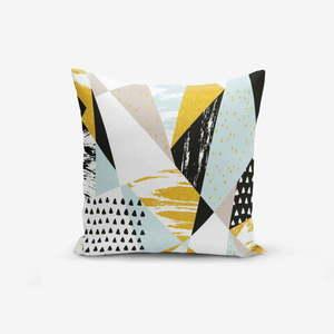 Poszewka na poduszkę z domieszką bawełny Minimalist Cushion Covers Liandnse Modern Geometric Sekiller, 45x45 cm obraz
