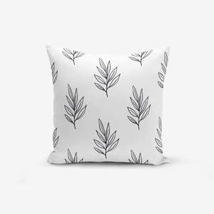 Poszewka na poduszkę z domieszką bawełny Minimalist Cushion Covers Leaf, 45x45 cm obraz