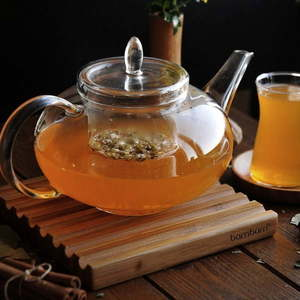 Szklany dzbanek do herbaty Sonnia, 1400 ml obraz