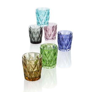Zestaw 6 szklanek Brandani Diamante, 270 ml obraz