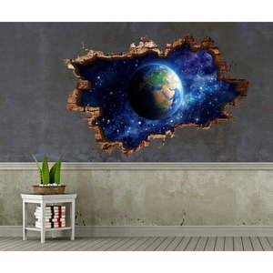 Naklejka ścienna 3D Art Bo, 70x45 cm obraz