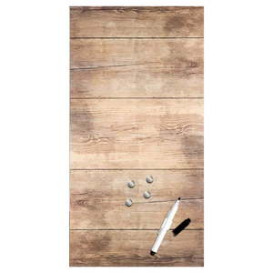 Tablica magnetyczna Styler Wood, 30x60 cm obraz