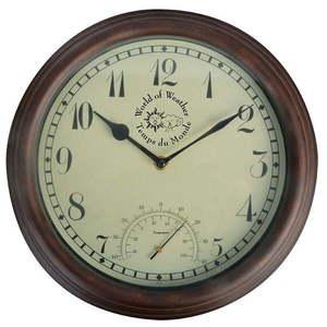 Zegar ogrodowy z termometrem Ego Dekor Time obraz