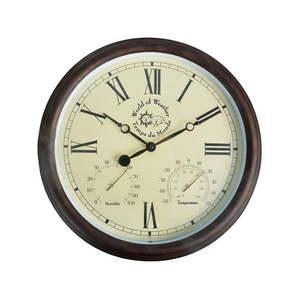 Zewnętrzny zegar ogrodowy z cyframi rzymskimi Ego Dekor obraz