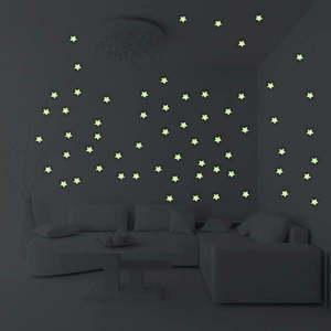 Komplet 100 świecących gwiazdek Ambiance Stars obraz