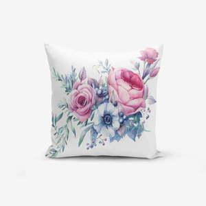 Poszewka na poduszkę z domieszką bawełny Minimalist Cushion Covers Design Flower, 45x45 cm obraz