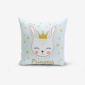 Poszewka na poduszkę z domieszką bawełny Minimalist Cushion Covers Princess Rabbit, 45x45 cm obraz