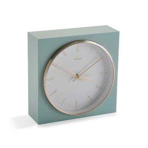 Jasnozielony zegar stołowy Versa Mint obraz