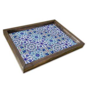 Taca drewniana Paisios, 30x40 cm obraz