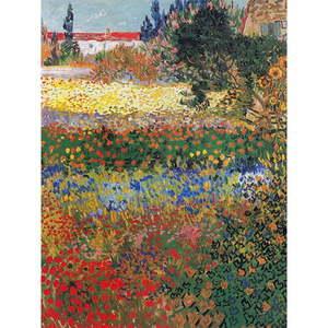Reprodukcja obrazu Vincenta van Gogha – Flower garden, 40x30 cm obraz