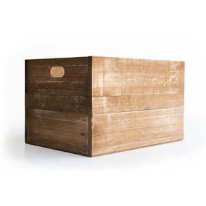 Skrzynka z drewna sosnowego Really Nice Things, brązowa obraz