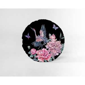 Okrągła poduszka dekoracyjna z aksamitnym obiciem Velvet Atelier Garza, ⌀ 45 cm obraz