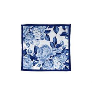Niebieska chustka Madre Selva, 55x55 cm obraz