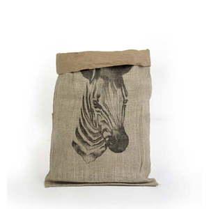 Organizer z papieru z recyklingu Madre Selva Zebra obraz