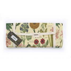 Koc piknikowy Surdic Manta Picnic Botanical z motywem roślin, 140x170 cm obraz