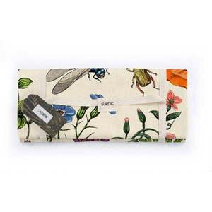 Koc piknikowy Surdic Manta Picnic Tierra Bella z motywem przyrodniczym, 140x170 cm obraz