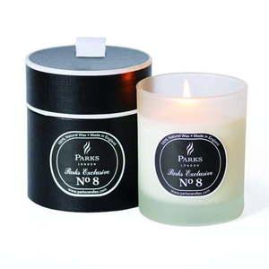 Świeczka o zapachu drewna i paczuli Parks Candles London Exclusive Feu de Bois, 45 h obraz
