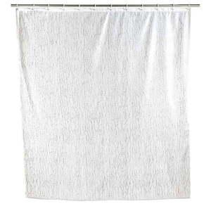 Zasłona prysznicowa Wenko Deluxe, biała obraz