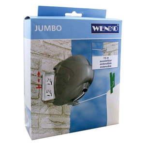Zwijany sznurek na pranie Wenko Jumbo, dł. 15 m obraz