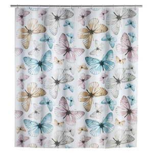 Zasłona prysznicowa Wenko Butterfly, 180x200 cm obraz