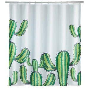 Zasłona prysznicowa Wenko Cactus, 180x200 cm obraz