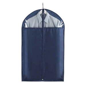 Niebieski pokrowiec na ubrania Wenko Business, 100x60 cm obraz
